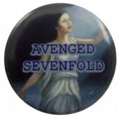 Avenged Sevenfold - 'Waking the Fallen' Button Badge